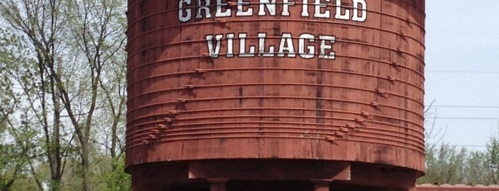 Greenfield Village is one of Detroit list.