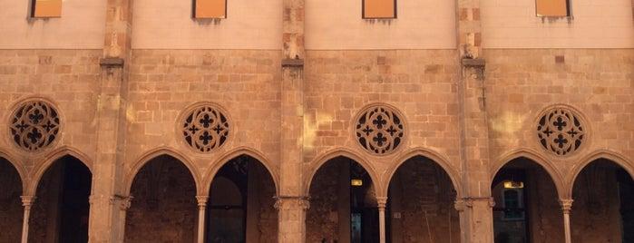 Convent de Sant Agustí is one of barcelona • art.