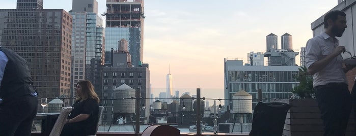 Cambria Hotel Rooftop is one of NYC - Outdoor Bars & Restaurants.