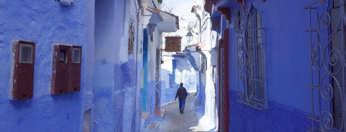 Chefchaouen is one of if you're ever in ____.