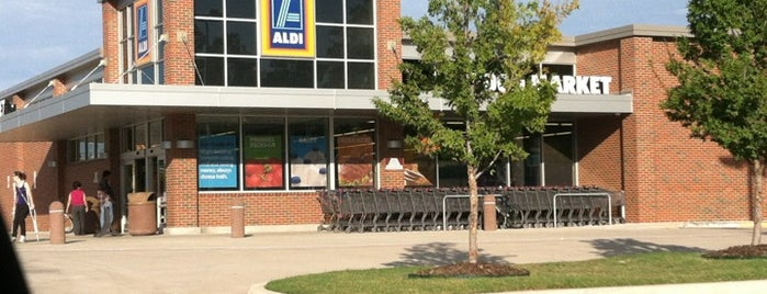 ALDI is one of Jaycee's Saved Places.