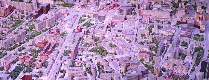 Макет Москвы is one of Москва.