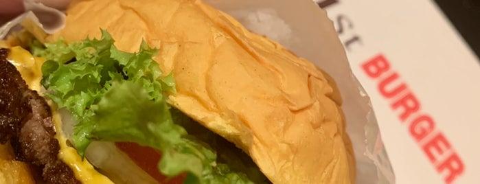 The First Burger is one of A'maal: сохраненные места.