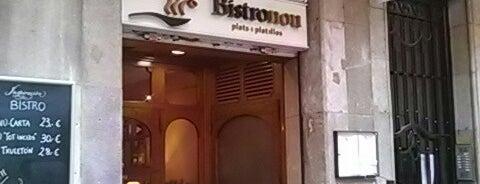 Bistronou is one of Menjar.