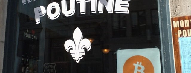 Montréal Poutine is one of Best Terrasses in Montreal.