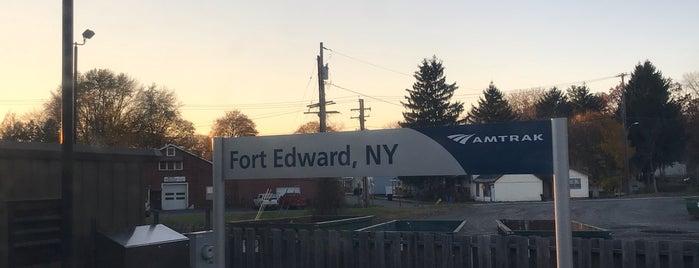 Fort Edward Amtrak is one of Locais salvos de Robert.