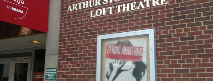 Syracuse Stage Theatre is one of Off-Campus Activities.