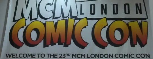 MCM London Comic Con is one of Nerds in London.