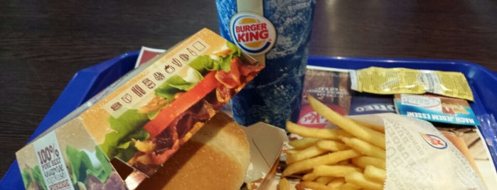 Burger King is one of Locais curtidos por Rob.