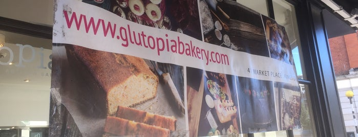 Artisan Gluten Free Bakery is one of LONDON GF.