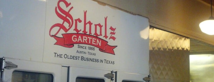 Scholz Garten is one of USA - Austin area.