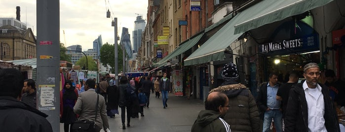 Whitechapel Market is one of London.