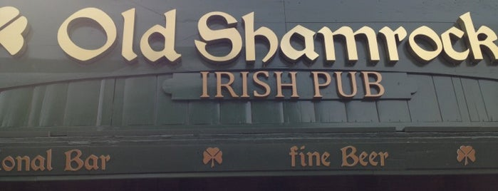 Old Shamrock Irish Pub is one of Valentin'in Kaydettiği Mekanlar.