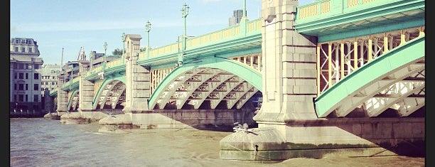 Southwark Bridge is one of London Favorites.