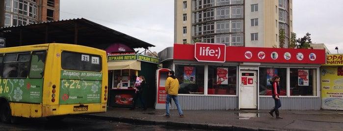 Початкова зупинка маршруту № 31 is one of Orte, die Daria gefallen.