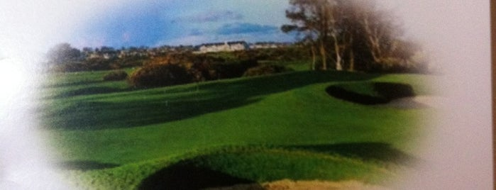 Carnoustie Links Championship Golf Course is one of Burcuさんのお気に入りスポット.