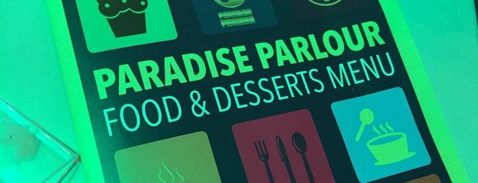 paradise parlour is one of Lieux sauvegardés par 🌸Noodle.