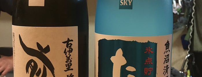 酒肆ちろり is one of 大人が行きたいうまい店2 福岡.