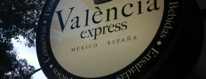 Valencia Express is one of Café desayuno postre.