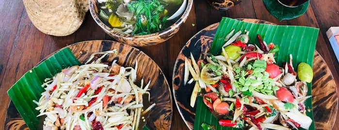 VIP ส้มตำ Club ต้นตำรับขอนแก่น is one of KKU food.