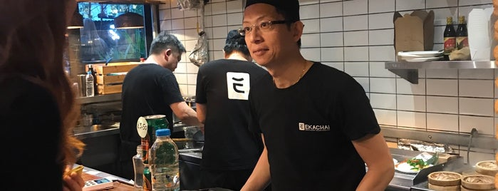 Ekachai is one of London Eat.