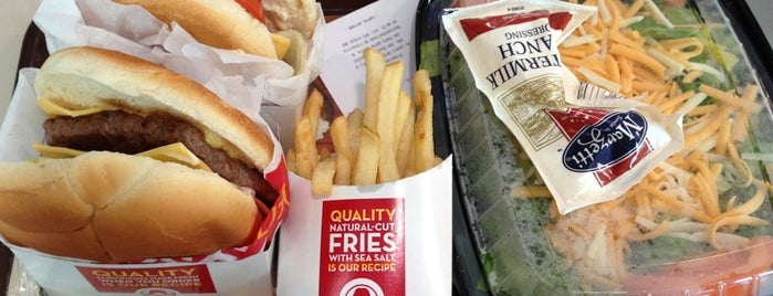 Wendy's is one of Favorites.