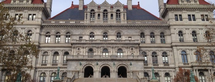 New York State Capitol is one of Cool places in NY (upstate).