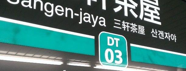 東急田園都市線 三軒茶屋駅 (DT03) is one of 東急田園都市線.