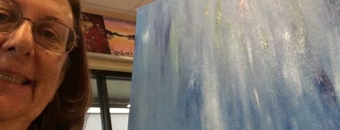 Painting with a Twist is one of สถานที่ที่บันทึกไว้ของ Susan.