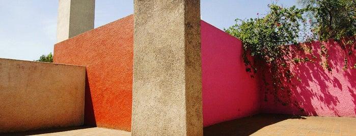 Casa Estudio Luis Barragán is one of Art Museums In Mexico city.
