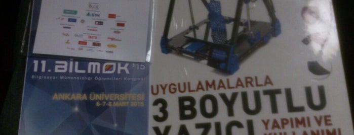 11. BİLMÖK | Ankara Üniversitesi is one of Lugares favoritos de Uğur.