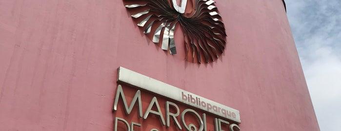 Biblioparque Marqués de San Jorge is one of Aquí Se debería Poder Rayar las Paredes.
