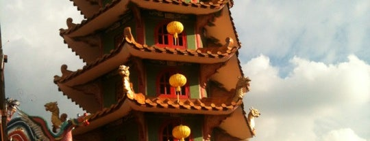 Kau Ong Yah Lam Thian Kiong Temple (九皇爺安邦南天宮) is one of Malaysia Interest.