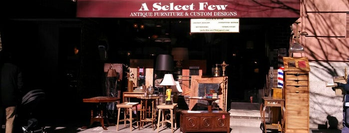 A Select Few Antique Furniture is one of NYC.