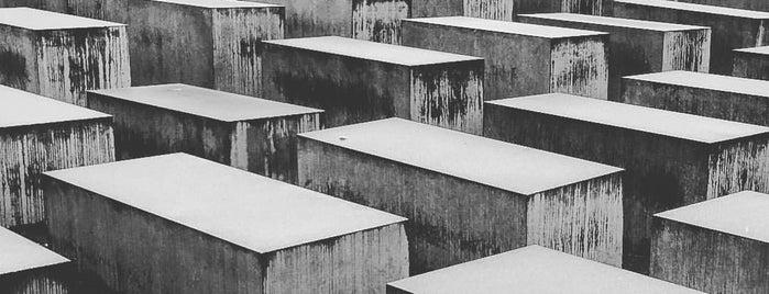 Katledilen Avrupalı Yahudiler Anıtı is one of Berlin - Lugares.