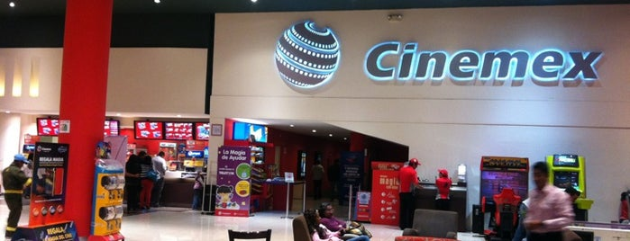 Cinemex is one of Work.