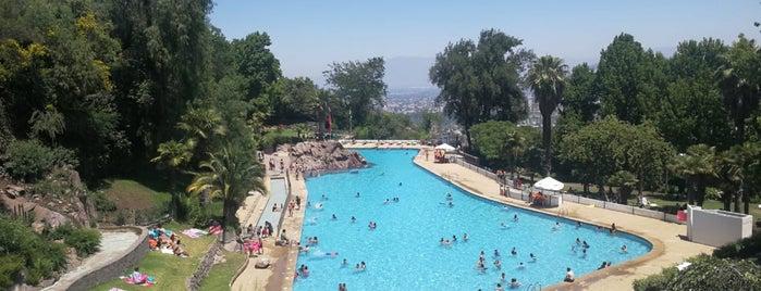 Parque Metropolitano de Santiago is one of Santiago.