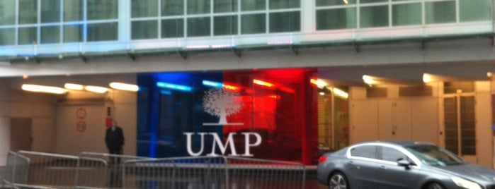 UMP - Union pour un Mouvement Populaire (UMP) is one of Parisian.