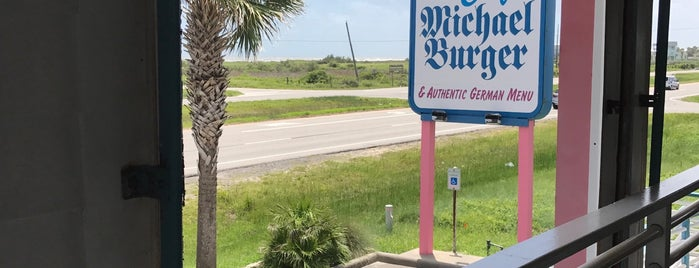 Cafe Michael Burger is one of Texas Monthly 50 Greatest Hamburgers in Texas.