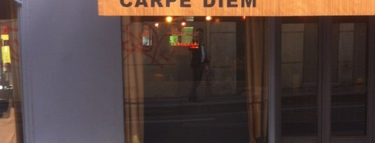 Carpe Diem Café is one of Lieux sauvegardés par Irina.