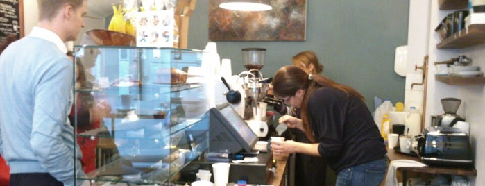 Carter Lane Coffee House is one of Specialty Coffee Shops Part 2 (London).