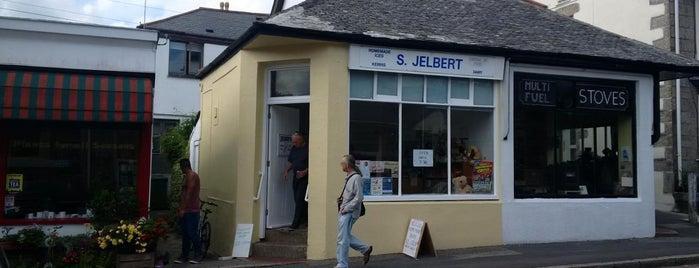 S. Jelbert is one of Cornwall.
