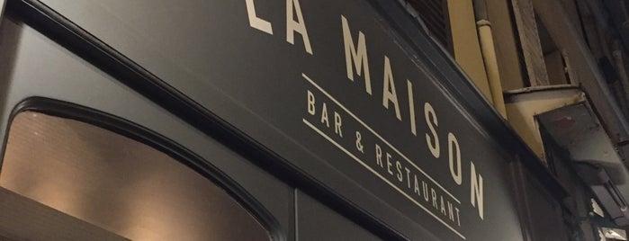 La Maison is one of Paris kif.