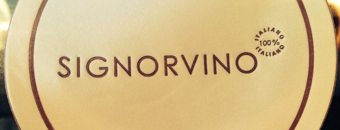 Signorvino Wine Store is one of To Eat (Italian).
