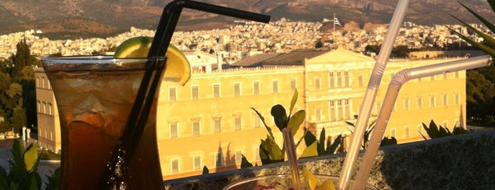 GB Roof Garden Restaurant is one of athens favourite.