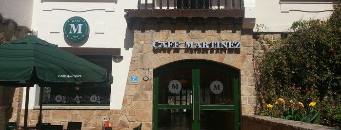 Café Martínez is one of Locais salvos de vc.