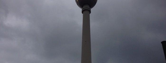 Berlin Televizyon Kulesi is one of Berlin!.