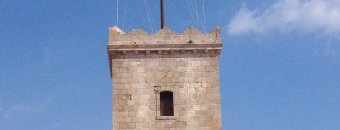Torre Castel de Montjuic is one of Best of Barcelona.