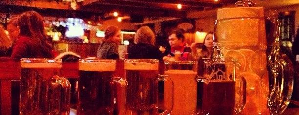 Hofbräu Bierhaus NYC is one of Manhattan Favorites.