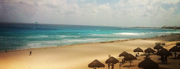 Playa Delfines (El Mirador) is one of Mexico // Cancun.